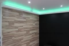 Комбинированная отделка стен