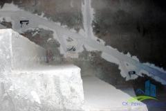 Монолитная лестница от застройщика