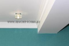 Потолок балкона из ГКЛ