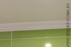 Потолок основного санузла
