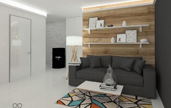 Ремонт квартиры 44м2 по дизайн-проекту